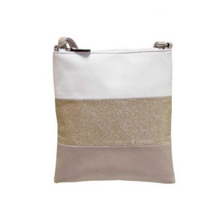 Envy Beige Glitter Small Shoulder Bag