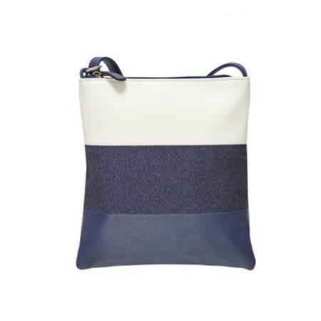 Envy Navy Glitter Small Shoulder Bag
