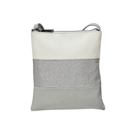 Envy Grey Glitter Small Shoulder Bag