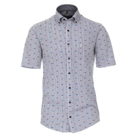 Casa Moda Sealife Short Sleeve Shirt
