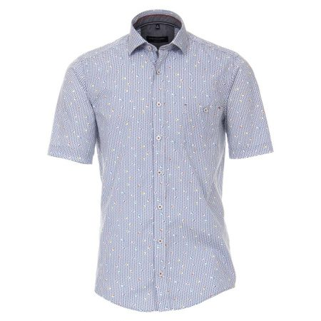 Casa Moda Floral Short Sleeve Shirt