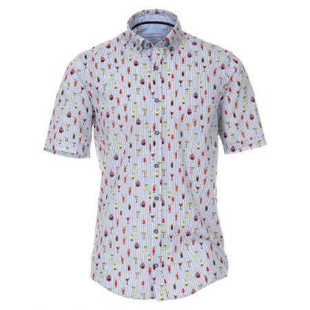 Casa Moda Cocktail Short Sleeve Shirt