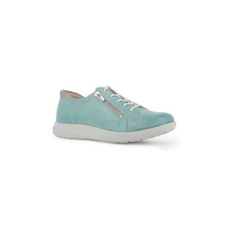 Alpina Crystal Mint Leather Trainers