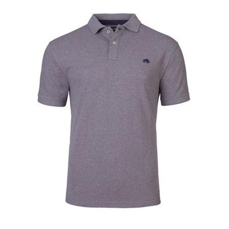 Raging Bull Grey Signature Polo Shirt