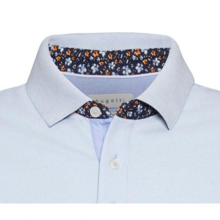 Bugatti blue polo shirt