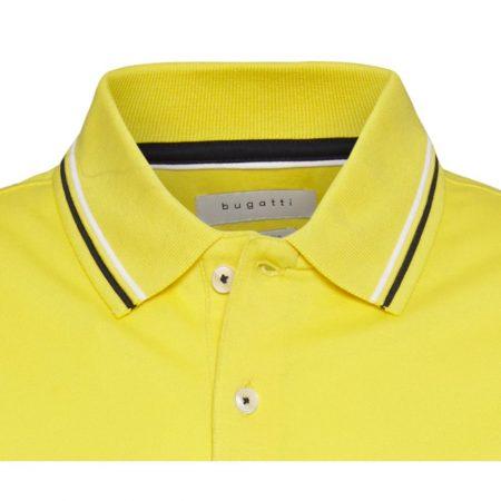 Bugatti yellow polo shirt