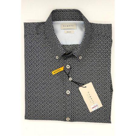 Bugatti navy casual shirt