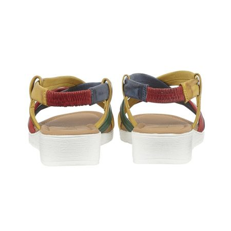 Lotus Rosanne Multi Leather Sandals