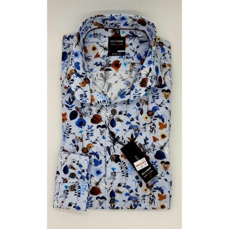 Olymp slim fit patterned shirt