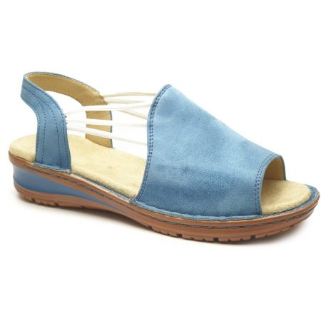 Ara Hawaii Sky Blue Flat Sandals
