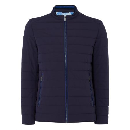 Remus Uomo Benny Navy Quilted Jacket