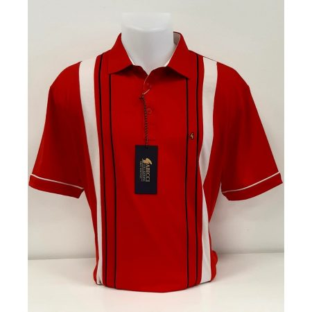 Gabicci Red Classic Sports Shirt
