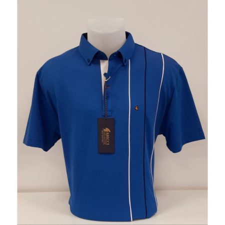 Gabicci Blue Classic Sports Shirt