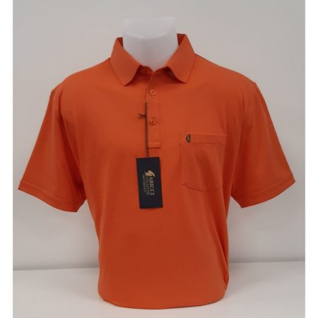 Gabicci Orange Classic Sports Shirt