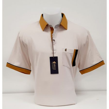 Gabicci Oat Classic Sports Shirt