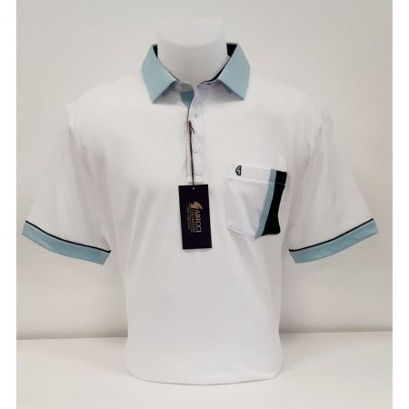Gabicci White Classic Sports Shirt