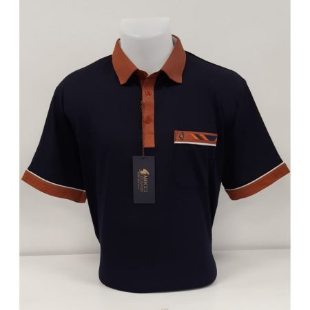 Gabicci Navy Classic Sports Shirt
