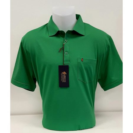 Gabicci Green Classic Sports Shirt