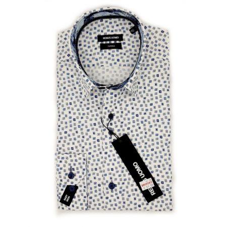 Remus Uomo Square Print Shirt