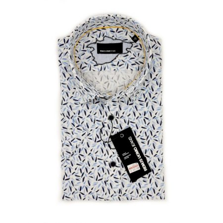 Remus Uomo Print Short Sleeve Shirt