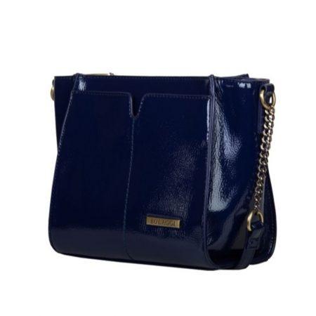 Bulaggi Lily Navy Patent Crossbody Bag