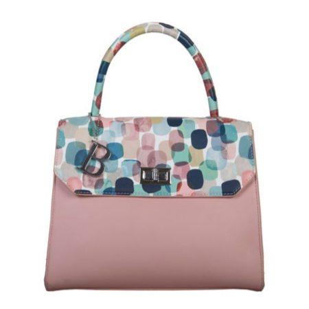 Bulaggi Roxy Pink Print Handbag