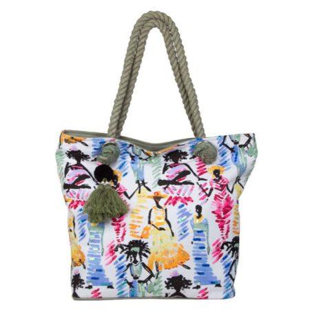 Bulaggi Ariel Green Beach Bag