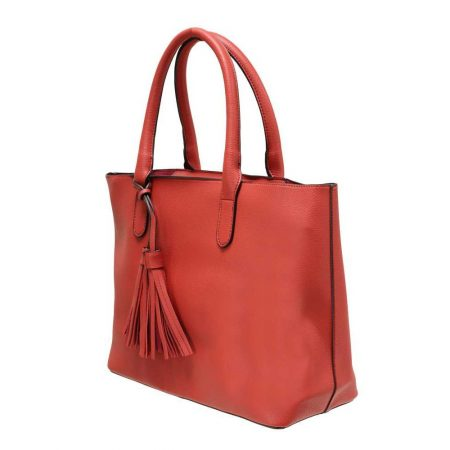 Envy Red Two in One Handbag