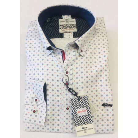 Dario Beltran White Long Sleeve Shirt