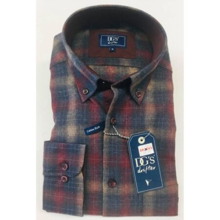 Drifter Tartan Long Sleeve Shirt