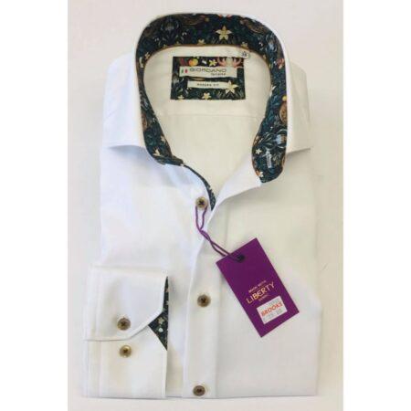 Giordano White Long Sleeve Shirt