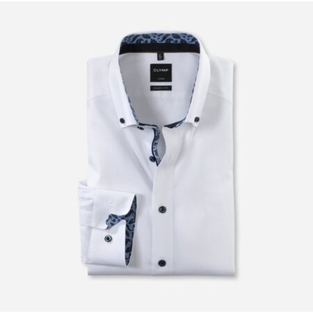 Olymp white shirt with trim