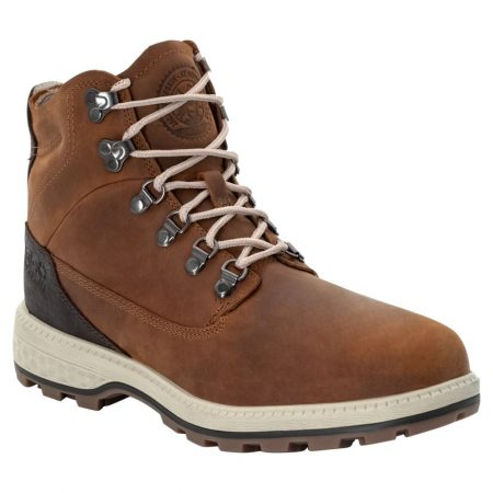 Jack Wolfskin Brown Leather Boots