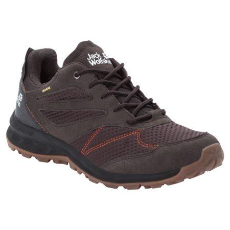 Jack Wolfskin Waterproof Brown Hiking Shoes