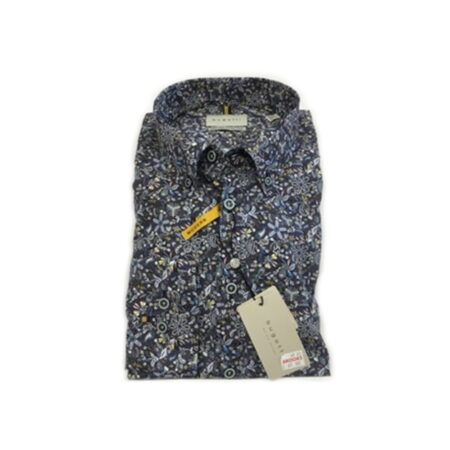 Bugatti Floral Print Long Sleeve Shirt