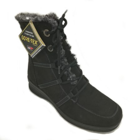 Ara Munchen Black Goretex Snow Boots