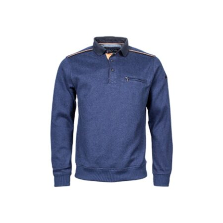 RB Boston Blue Casual Sweatshirt
