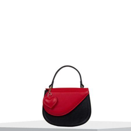 Bulaggi Heart Black Red Mini Bag