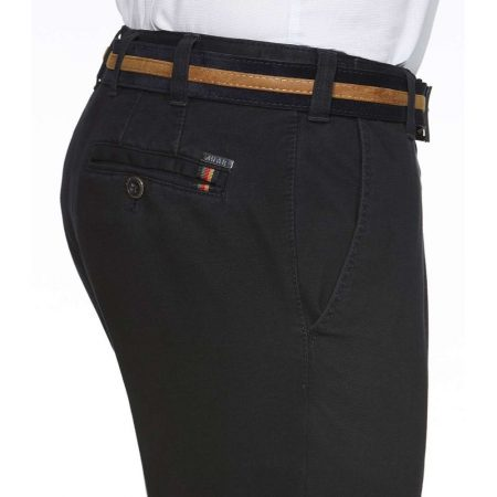 Meyer Blue Roma cotton Trousers
