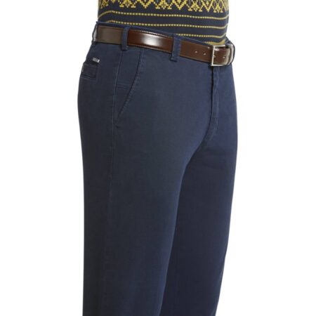 Meyer Blue New York cotton Trousers
