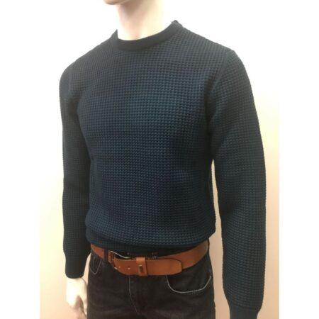 Remus Uomo Navy Knit Sweater