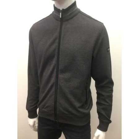 Bugatti Grey Zip Sweatshirt Jacket