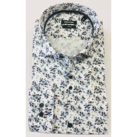 Remus Uomo Tapered Fit Floral Shirt
