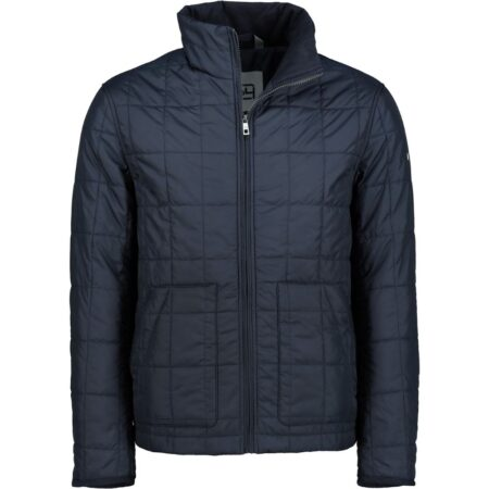 S4 Navy Quilted Water Repellent Jacket