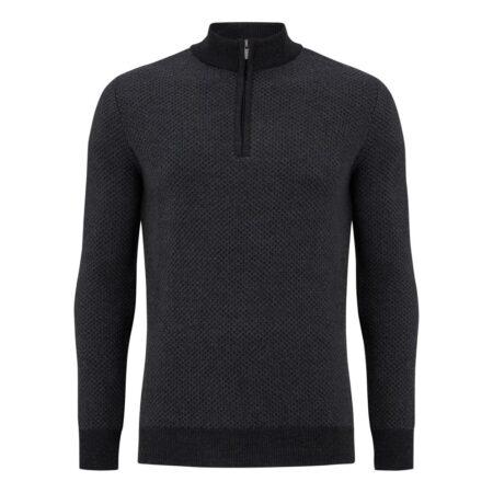 Remus Uomo Grey Knit Sweater