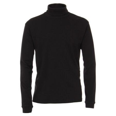 Casa Moda Black Polo Neck