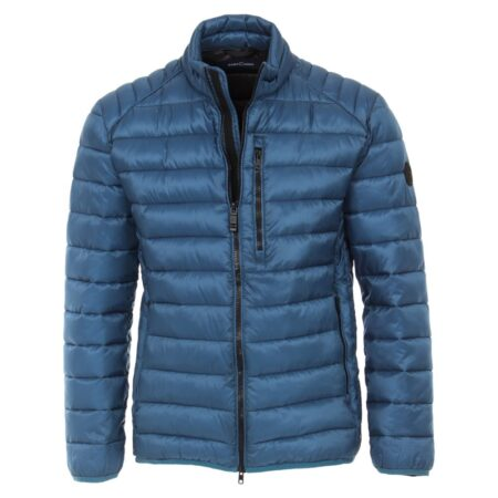Casa Moda Blue Casual Padded Jacket