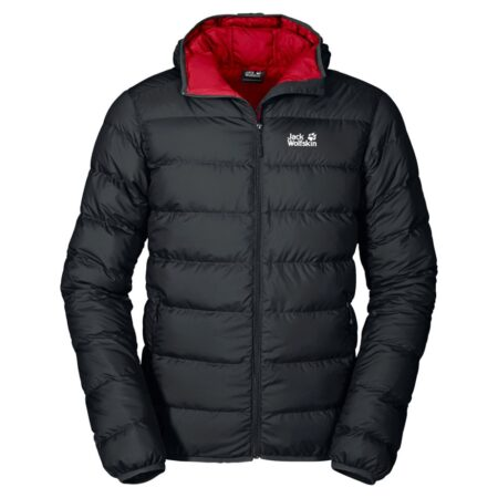 Jack Wolfskin Helium Black Down Jacket