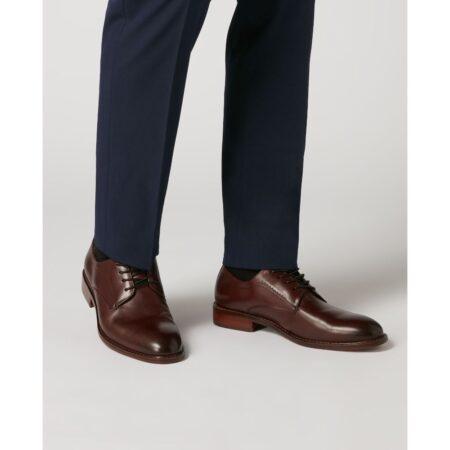 Remus Uomo Dimitri Burgundy Leather Shoes