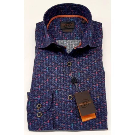 Douglas Multi Colour Long Sleeve Shirt